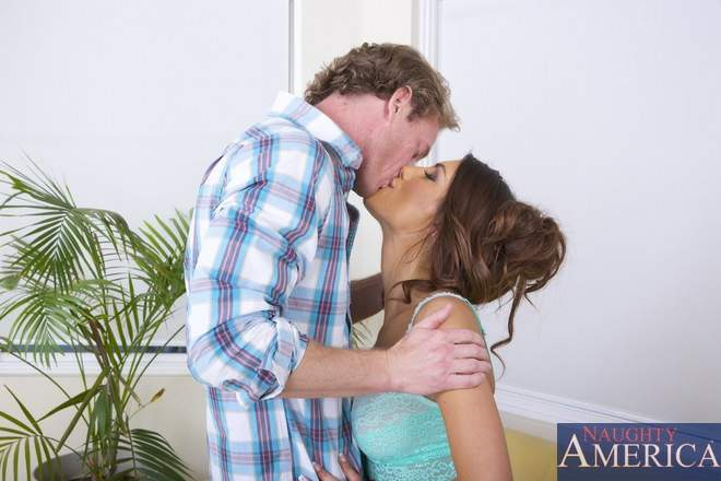 Ryan fucks august ames