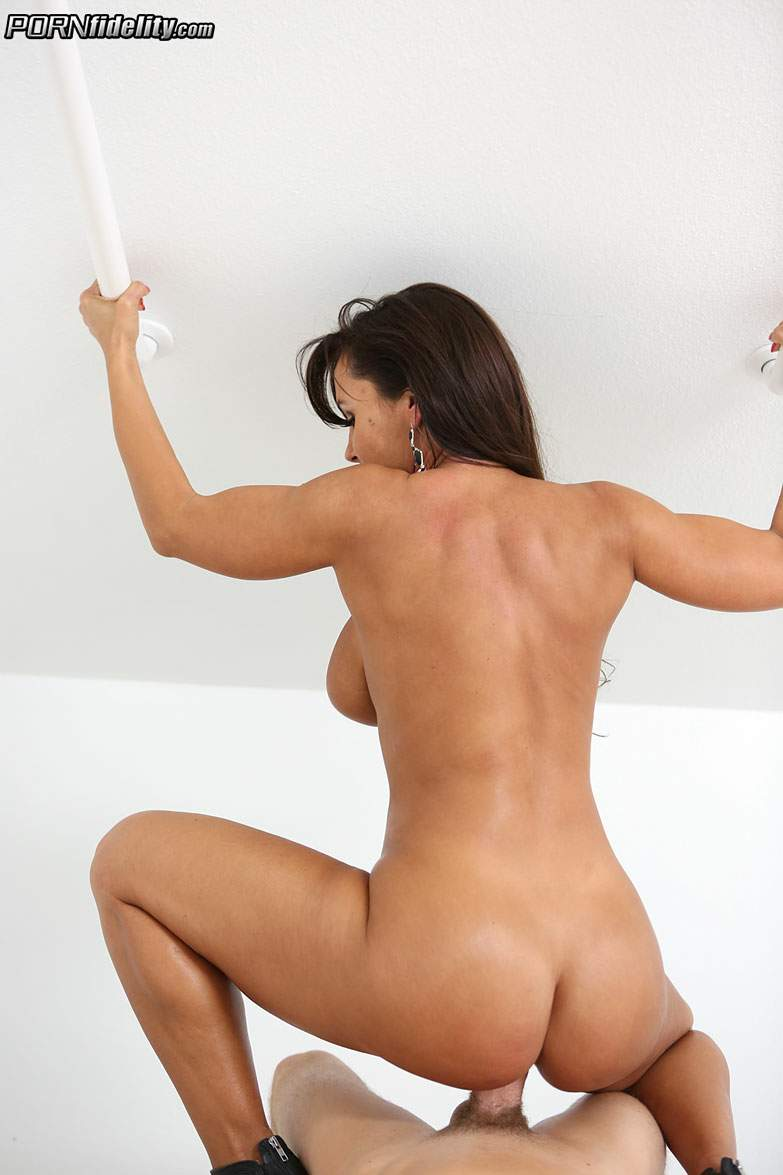 image Lisa ann is fucked by mandingo