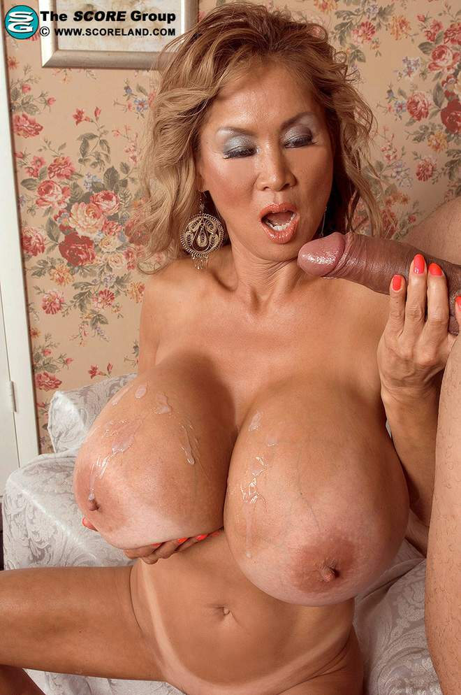Horny massive natural tits mature gets pounded 9